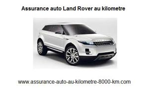 assurance auto land rover au kilometre. Black Bedroom Furniture Sets. Home Design Ideas