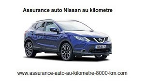 assurance auto nissan au kilometre
